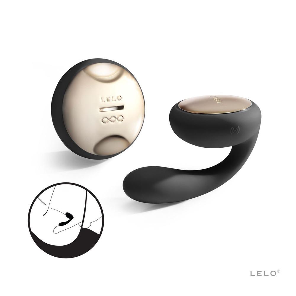 Lelo Ida Couples Vibrator (Black)
