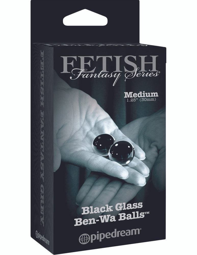 Fetish Fantasy Glass Ben Wa Balls (Medium) | Lily Hush