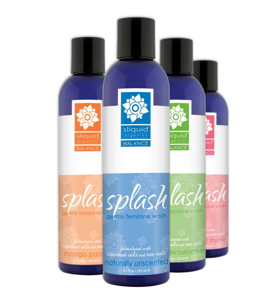Sliquid Splash Grapefruit Thyme pH Balanced Feminine Wash 255ml