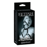 Pipedream Fetish Fantasy Limited Edition Ring Ball Gag & Nipple Clamps