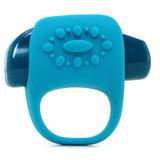 Key By Jopen Ela Vibrating Cock Ring (Blue)