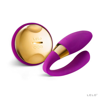Lelo Tiani 24k Karat Gold Couples Vibrator (Deep Rose)