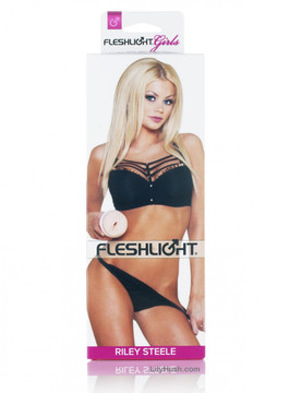 Riley Steele Retail Packaging - Front | Lily Hush Online Store