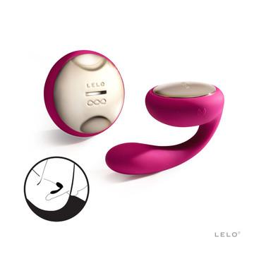 Lelo Ida Couples Vibrator (Cerise)