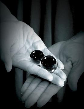 Fetish Fantasy Glass Ben Wa Balls (Small) | Lily Hush