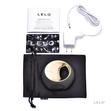 Lelo Ora 2 Clitoral and Oral Vibrator (Black)