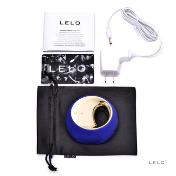 Lelo Ora 2 Clitoral and Oral Vibrator (Blue)