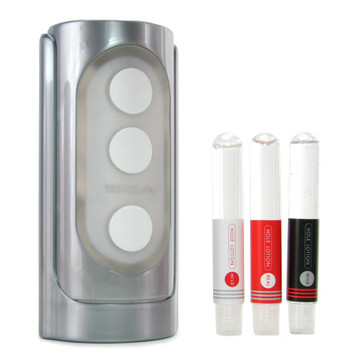 Silver Flip Hole with Free Lubricants
