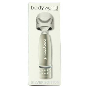 BodyWand Mini Vibrating Magic Wand (Silver)