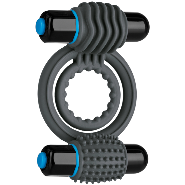 Doc Johnson Optimale Vibrating Double C-Ring