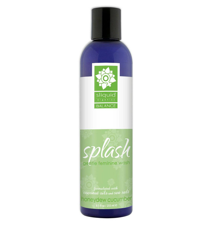 Sliquid Splash Honeydew Cucumber pH Balanced Feminine Wash 255ml
