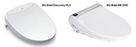 Bio Bidet Discovery DLS vs Bio Bidet BB 2000