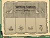 AAS Level 7 Writing Station