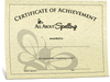 All About Spelling Certificate of Completion