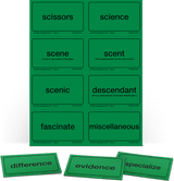 AAS Level 7 Word Cards