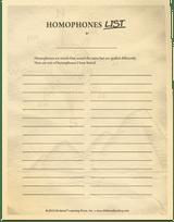 AAS Level 7 Homophones List