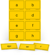 AAS Level 1 Phonogram Cards