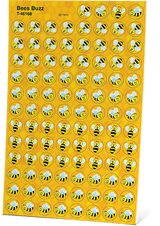 AAS Level 1 Buzzing Bee Stickers