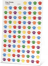 AAS Level 3 Private Eye Pawprint Stickers