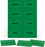 AAS Level 6 Word Cards