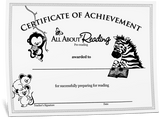 Pre-reading Certificate of Achievement