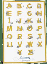 Capital Alphabet Chart