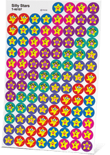 AAR Level 1 Silly Stars Stickers