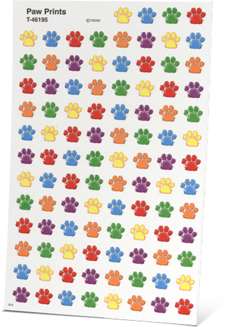 """All About Spelling Level 3 """"Private Eye Pawprint"""" Stickers"""