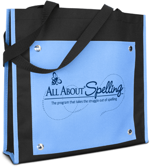 All About Spelling Tote Bag