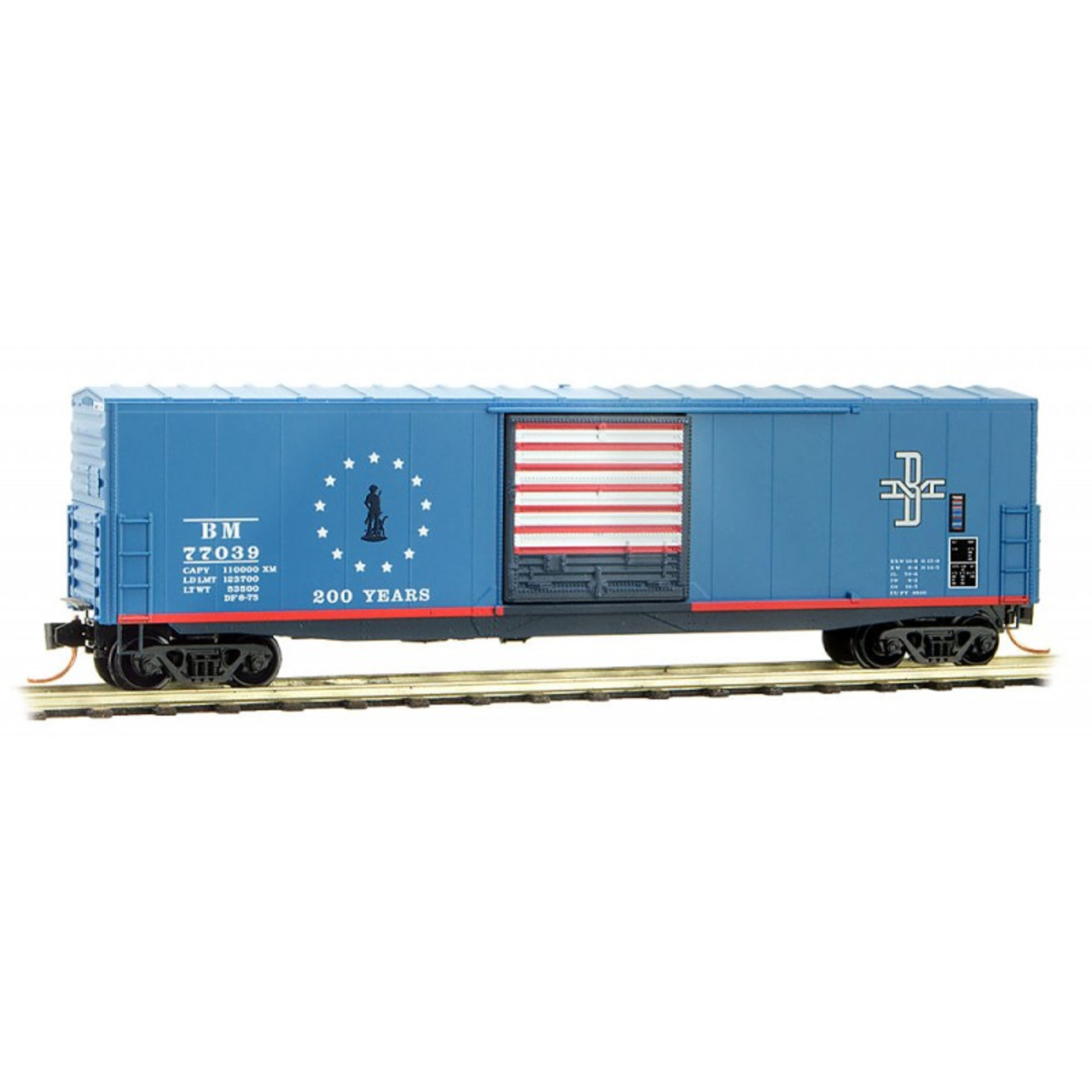 K4 G 1:24 Decals Central Of New Jersey Express Boxcar Yellow