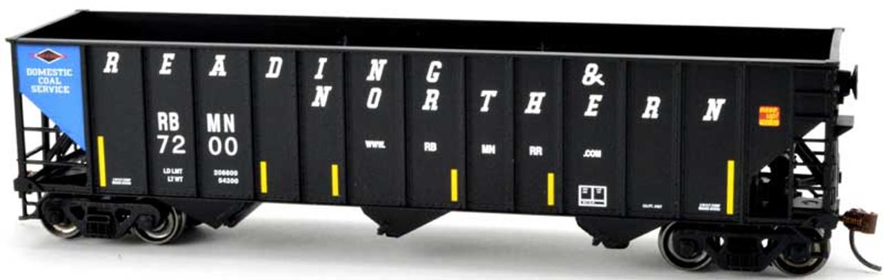 100-Ton 3 Bay Hopper Cars R-T-R Set-1 3 car set// 3 car # Bowser READING
