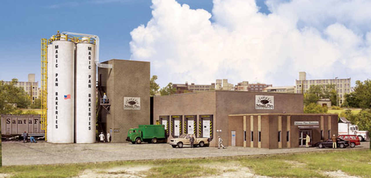Walthers Cornerstone HO Scale Building//Structure Kit Wally/'s Warehouse
