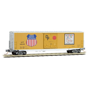 Micro-Trains 180 00 040 Union Pacific 50' Std. Door Box Car N scale