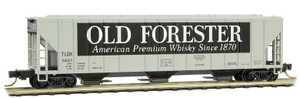 "Micro-Trains 099 00 180 ""Old Forester"" 3-bay Covered Hopper #5657 N scale"