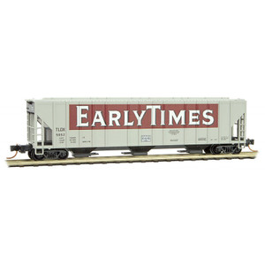 "Micro-Trains 099 00 190 ""Early Times"" 3-bay Covered Hopper #5652 N scale"