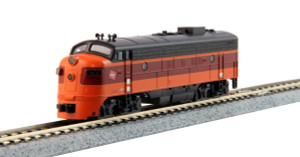 KATO N scale 176-2301-DCC Milwaukee Road FP7A Road #95C DCC