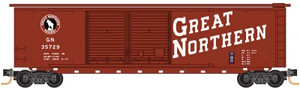 Micro-Trains 034 00 420 Great Northern 50' Standard Double Door Box Car #35729 N scale