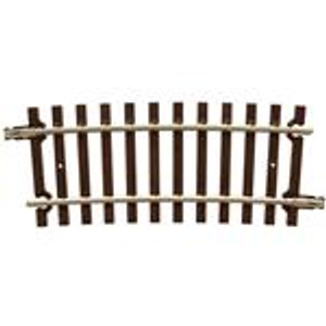 """Atlas O 7012 40.5"""" Radius 1/3 Section Curved Track 2-rail (2 pieces)"""
