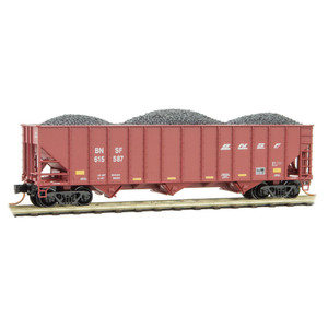 Micro-Trains 108 00 372 BNSF Hopper w/load #615587 N scale