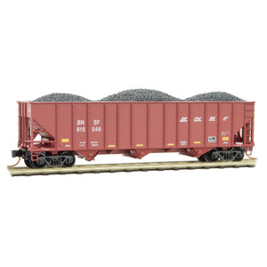 Micro-Trains 108 00 371 BNSF Hopper w/load #61546 N scale