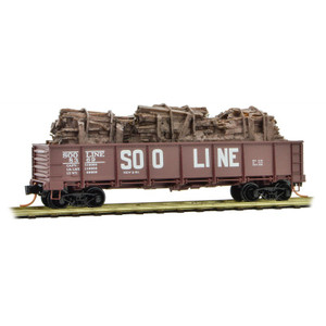 Micro-Trains 083 00 020 SOO Line #8369 40' Drop Bottom Gondola N scale