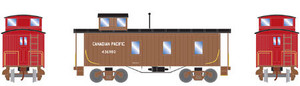 Roundhouse 17774 CPR 30' 3-window caboose #436980 HO