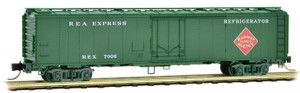 Micro-Trains 052 00 120 Railway Express Agency 52' Riveted Steel Express Reefer #7006 N scale