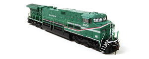 BLI 2010 GE AC6000, Demonstrator #6000 (Green Machine) Low Ditch Lt. Paragon2 Sound/DC/DCC HO