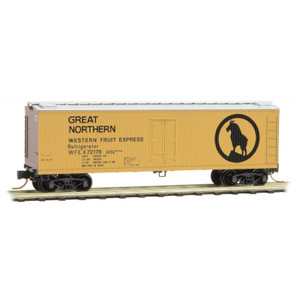 Micro-Trains 047 00 420 Great Northern 40' Double-Sided Wood Reefer #72178 N scale