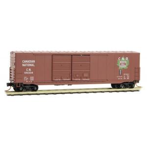 Micro-Trains 182 00 050 Canadian National 50' Standard Box Car #551334 N scale