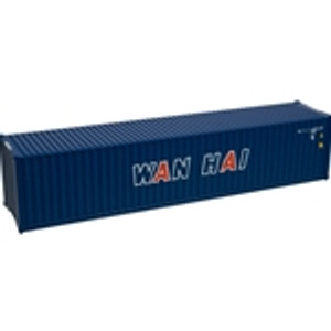 Atlas N scale 50003862 Wan Hai 40' Container Set 1