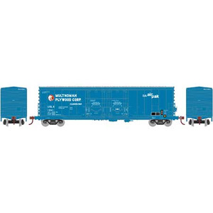 Athearn RTR 67437 Multnomah Plywood Ex-DW 50' Evans DD Plug Door Box Car #13041 HO