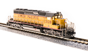 BLI 3715 EMD SD40-2, UP #3128, Yellow & Gray, Paragon3 Sound/DC/DCC, N