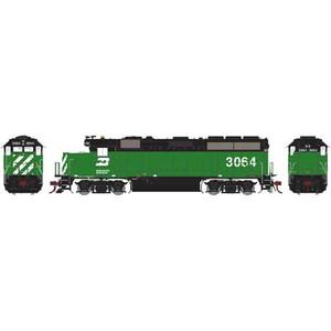 Athearn Genesis 65655 BN GP40-2 DC #3064 HO